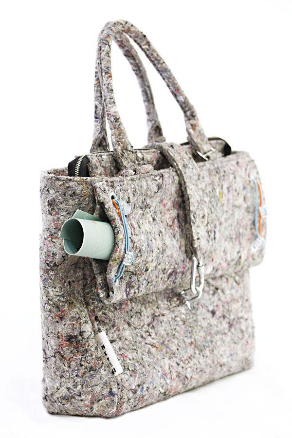 INDUSTRIAL BAG xxl. Big womaen's stylish bag. XXL. Gray color.