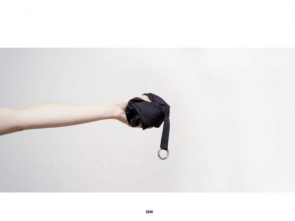 torba _ SBW - uniwersalna czarna torba. Wykonany ręcznie z wodoodpornego ortalionu. Polski Handmade. Karabinek na klucze.