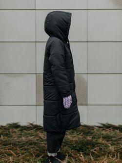 płaszcz kołderka z głową