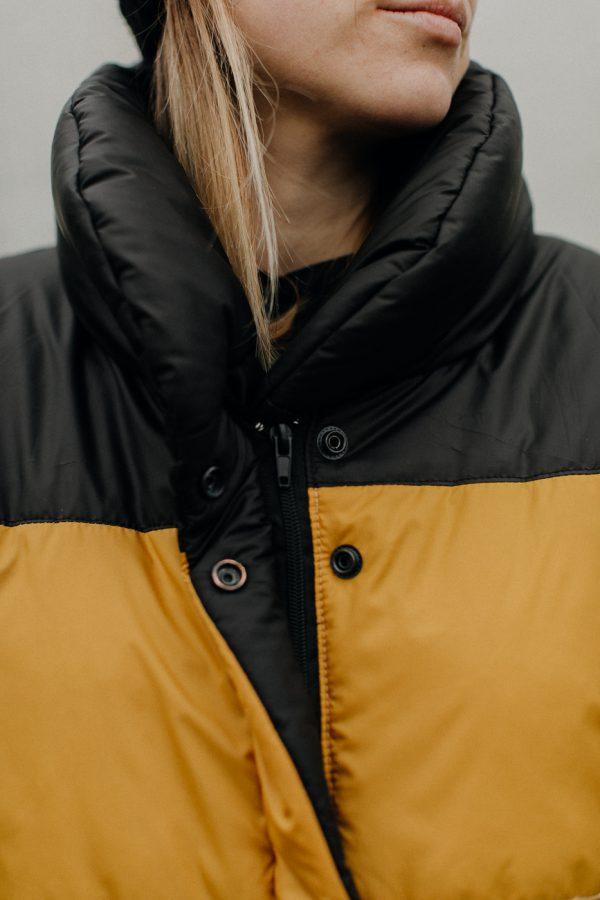 kurtka zimowa tęcza